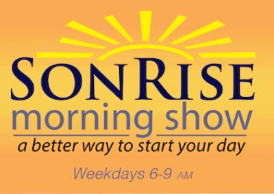 Elisabeth Sullivan on SonRise Morning Show, Sacred Heart Radio